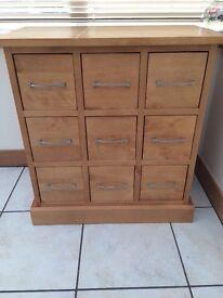 Next 9 drawer unit