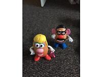Mr and Mrs potatoe head