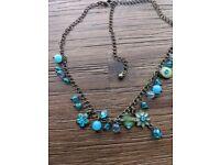 Lovely blue necklace