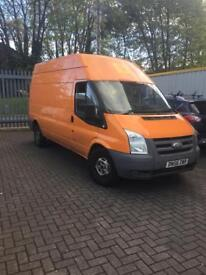 Ford Transit LWB Hight Top- Part converted