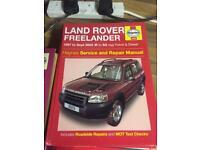Freelander Haynes Manual 97 - 2003