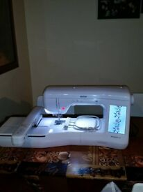 Brother Innovis V3 Embroidery Machine + PE Design 10 Software for sale