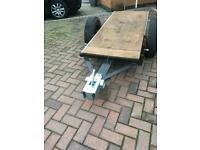 Garden flatbed trailer