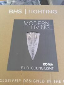 Bhs lighting brand new in box with tags originally 300
