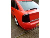 vauxhall vectra black back light facelift sri 2006