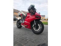 Ducati panigale 899 - clean example - supersports motorbike