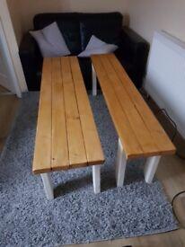 2 kitchen benches.