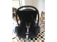 Maxi Cosi CabrioFix Car Seat - Raven Black