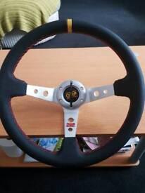 Omp style steering wheel
