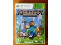 Xbox 360 Minecraft Game - Great condition