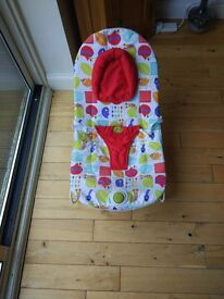 Mamas & Papas Vibrating Bouncer Cradle Chair