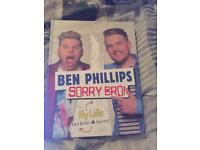 Ben Phillips sorry bro book