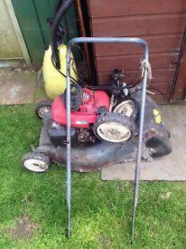 Honda izy lawnmower spares and repairs