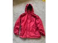 Men's Berghaus Red AQ2 Aquafoil Waterproof Hooded Parka Jacket Size Large
