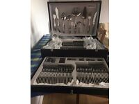 "Brand New Herdmar ""KALIA"" Stainless Steel 18/10 Cutlery Set 130 pieces"