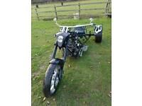 Custom trike 850cc