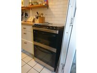 Zanussi freestanding double gas oven