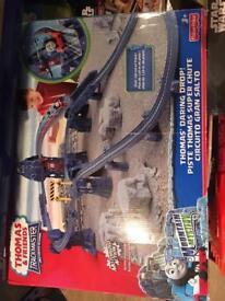 Thomas the tank trackmaster sets