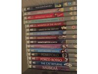 Ghibli Studio DVD Collection 1-17