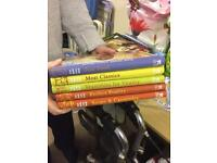 Set of 5 cooking books