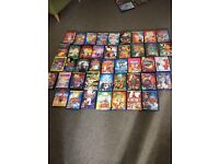 77 Disney DVDs including Pixar DVDs and live action dvds
