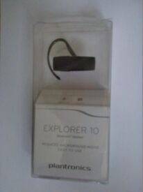 Bluetooth headset and I-phone cover