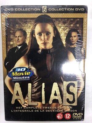 Alias la Integral Temporada 2 Estuche 6 DVD Nuevo en Blíster c29