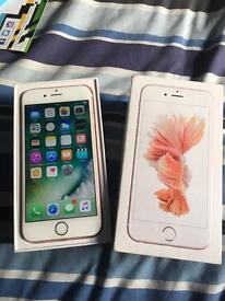 IPhone 6s rose gold mint condition on EE