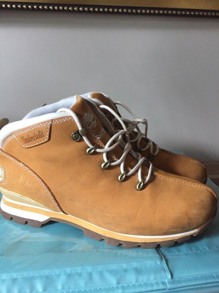 Men's Timberland Splitrock Hiker Boots - Size 7.5 (Like New)