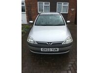 Vauxhall Corsa Parts Or Repairs