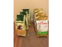 Quantity of dry dog food