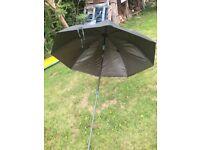 Large 150cm tilt XQ Max fishing umbrella