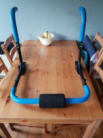 Manual ab/sit up cruncher.