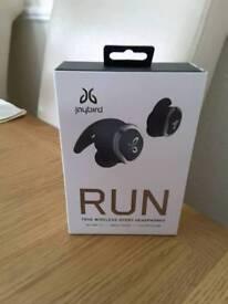 JayBird run wireless headphones