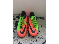 Nike football shoes + Puma running shoes size 4