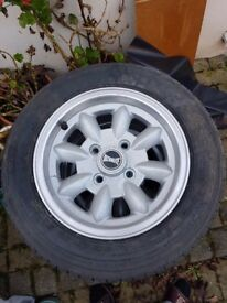 12 in Mini Alloy Wheels