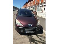 peugeot 307sw automitic 7 seven seater