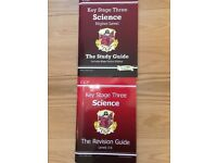 6 Study Guides for Key Stage 3 Science, Maths, English and French