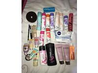 Assortment of cosmetic products