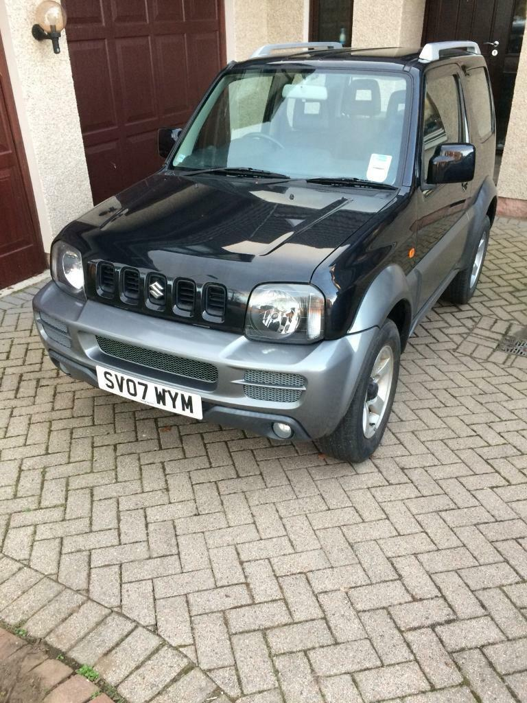 SOLD PENDING COLLECTION Suzuki Jimny 1.3 JLX+ 3dr only 8k miles from new 2007