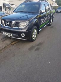 nissan navara....with new engine fitted last year .