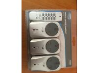 Remote Control socket kit 3 pack - never opened
