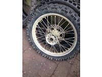Rm 250 rear wheel