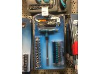 2x socket tool kits screwdriver