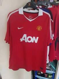 Manchester United shirts