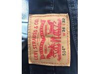 Men's Black Levi's Jeans 34W 32L
