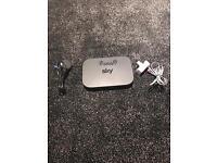 Sky Q broadband for sale.