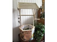 Beautiful Vintage Wedding Wishing Well For Sale
