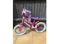 Girls Disney princess bike x 2