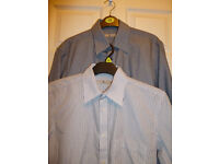 Light Grey Slim fit 3 pc suit from Slaters .Worn Once ��40 with 2 shirts brand new